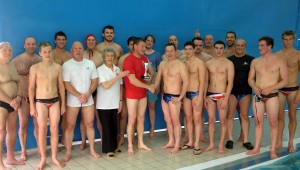 Enfield present Barnstaple the cup